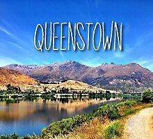 Queenstown Summer by irishkiwipcards