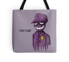 Purple Man Tote Bag