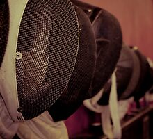 Fencing Mask by Mark Alfonso