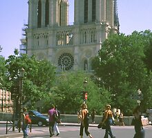 Notre Dame, Paris, August 2001 by Priscilla Turner