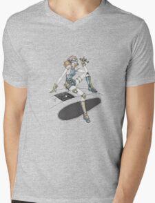 Mechanic Girl Mens V-Neck T-Shirt