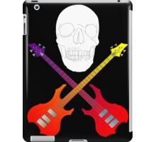 guitar cross bones  iPad Case/Skin
