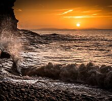 Amroth Sunrise by Cliff Edge by Simon West