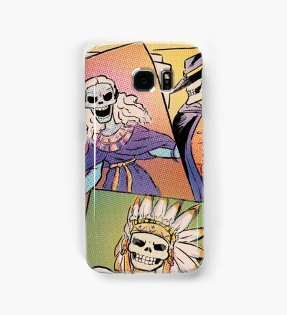 Skull-Headed Heroes Samsung Galaxy Case/Skin