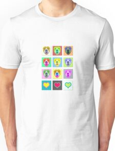 Smiling Staffy dog shirt Unisex T-Shirt