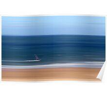 Gullane Windsurfer Poster