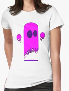 Cool Ghost Womens Fitted T-Shirt