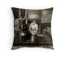 Shoot'in the Breeze Throw Pillow