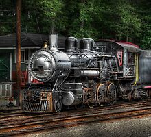 At the Station by Mike  Savad