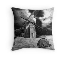 Windmill-Jamestown, RI Throw Pillow