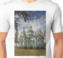 Old Wooden Church Unisex T-Shirt