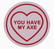 Geeky Love Hearts - Axe Kids Clothes