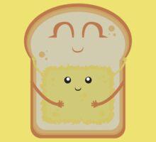 Hug the Butter One Piece - Short Sleeve