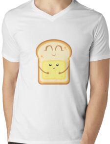 Hug the Butter Mens V-Neck T-Shirt