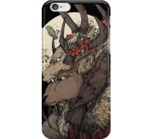 The Elk King iPhone Case/Skin