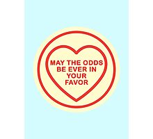Geeky Love Hearts - Odds Photographic Print
