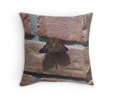 perfect landing! Throw Pillow