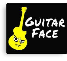 Guitar face - Switched at Birth Canvas Print