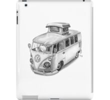 VW Type 2 Bus Split Screen Pop Top iPad Case/Skin