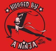 Hugged By A Ninja