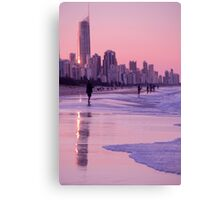 Gold Coast Reflections Canvas Print