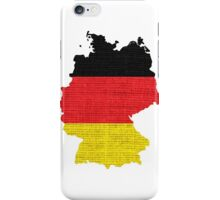 Germany Flag Map iPhone Case/Skin