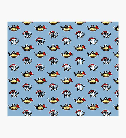 Pi and Pie Pirates pattern Photographic Print