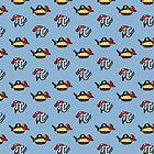 Pi and Pie Pirates pattern by jezkemp