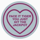 Geeky Love Hearts - Tiger by SevenHundred