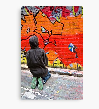 Color Coordinated - IV Canvas Print