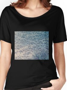 Ice Crystals Women's Relaxed Fit T-Shirt