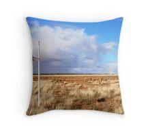 Toms Lake Riverina NSW Throw Pillow