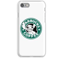 No more coffee for you - Stitch Starbucks logo iPhone Case/Skin