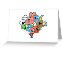 The Amazing World Of Gumball Greeting Card
