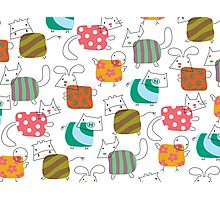 Baby Moo! Oink! Cheep! Meow! Woof! Thump! Photographic Print