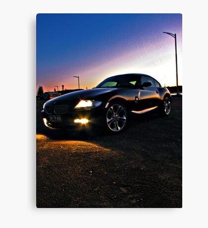 Driving Machine Canvas Print