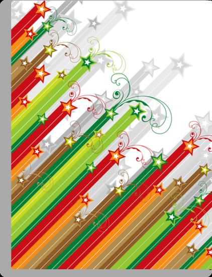 Festive Stars and Stripes by fatfatin