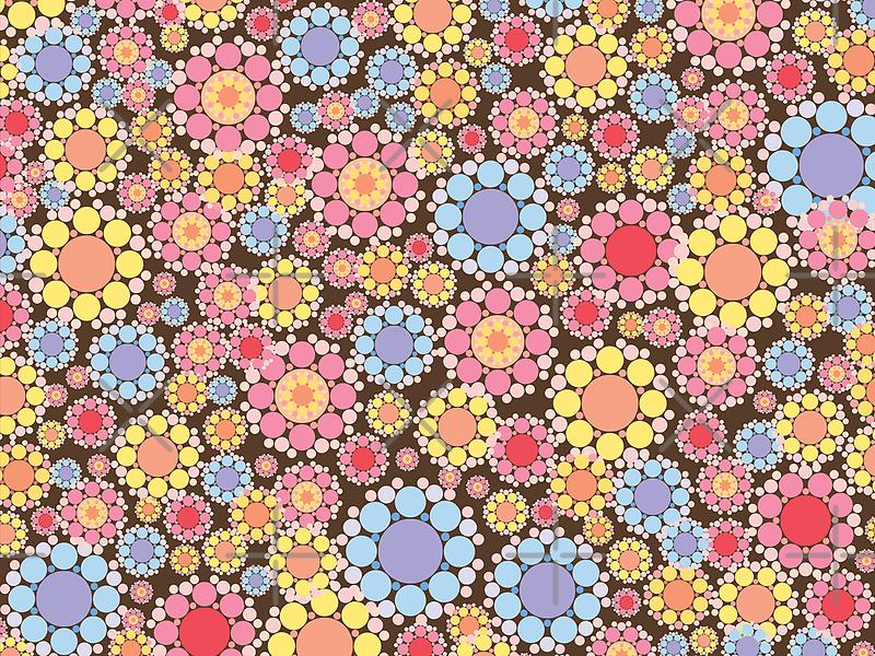 Pastel Snow Flowers by fatfatin