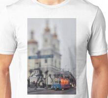 Tram On The Street 1 Unisex T-Shirt