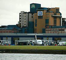 London City Airport and Tate and Lyle by DavidFrench