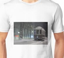 Old Tram On The Street Unisex T-Shirt