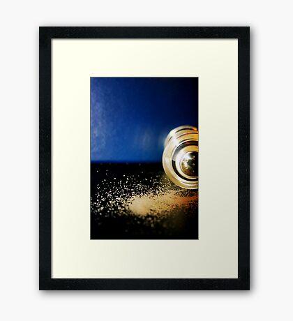 Blue Pepper Framed Print
