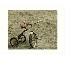 Old Tricycle Art Print