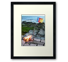 Castaways and Survivors Framed Print