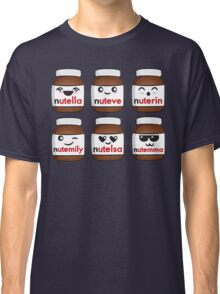 Nutella faces Classic T-Shirt