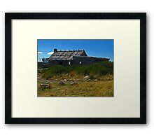Craig's Hut - Victoria's High Country Framed Print