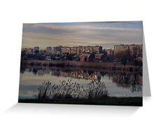 Vyshenskoe (Cherry) lake Greeting Card