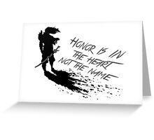 Yasuo quote Greeting Card