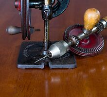 Vintage Manual Hand or Belt Driven Scroll Saw by EmeraldRaindrop