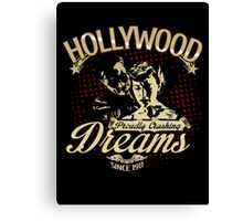 Hollywood Dreams Canvas Print